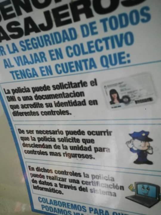 policia detención DNI