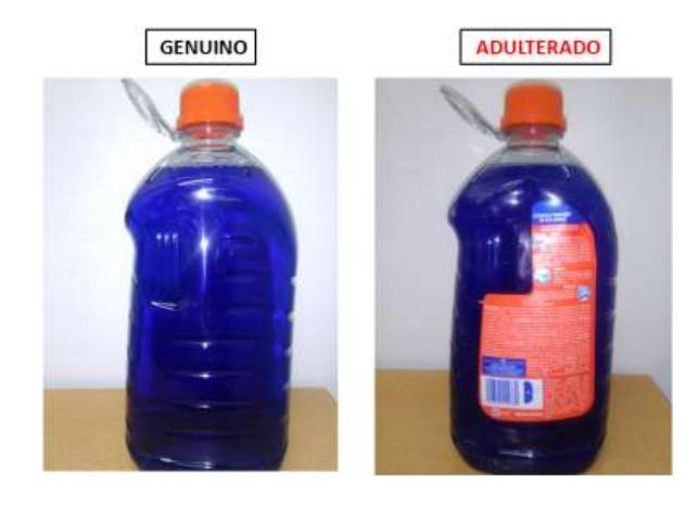 jabón líquido adulterado ace2
