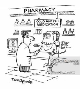 remedio contra el resfrío - chiste