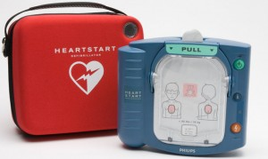 Automatic external defibrillator (for public access)