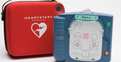 Automatic external defibrillator (for public access)