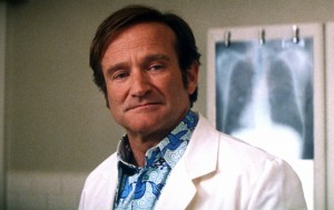 Patch Adams (1998)  Directed by Tom Shadyac Shown: Robin Williams When: 12 Aug 2014 Credit: WENN.com **This is a PR photo. WENN does not claim any Copyright or License in the attached material. Fees charged by WENN are for WENN's services only, and do not, nor are they intended to, convey to the user any ownership of Copyright or License in the material. By publishing this material, the user expressly agrees to indemnify and to hold WENN harmless from any claims, demands, or causes of action arising out of or connected in any way with user's publication of the material.**
