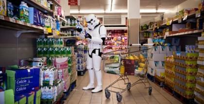 stormptrooper en el supermercado