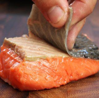 Ese salmón que nos gusta