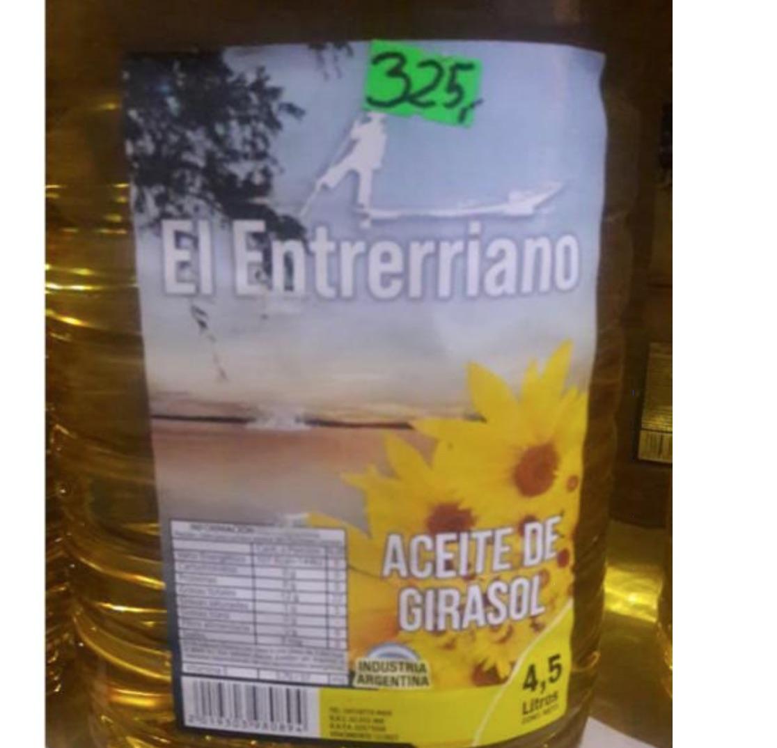 Prohíben un suplemento dietario y un aceite de oliva y otro de girasol